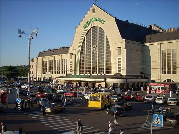 Kiev Central station evacuted. One more bomb threat