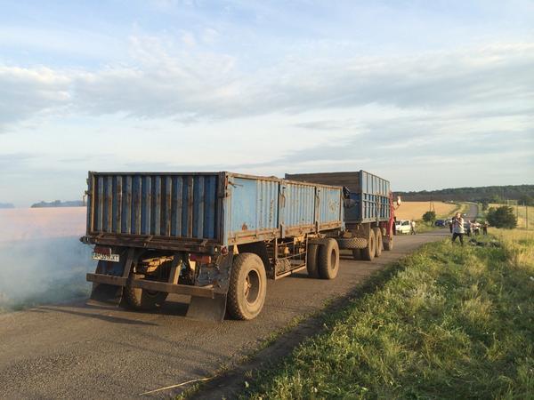 Lorries driven by separatist militiamen took dozens of bodies of MH17 passengers to undisclosed location