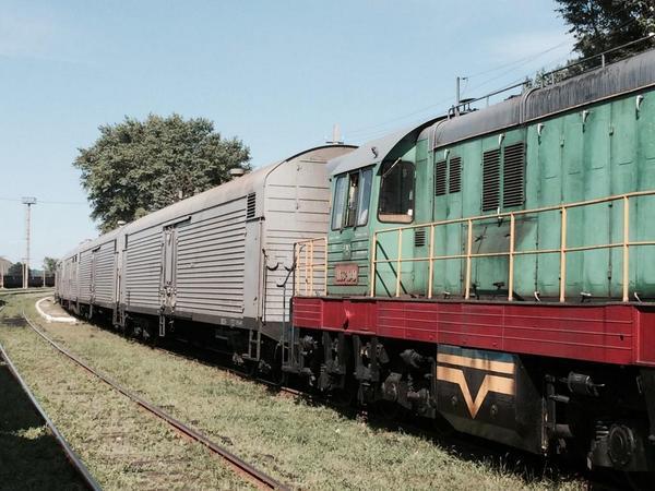 The Death Train 200 bodies, has arrived Ilovaysk, now onwards Donetsk