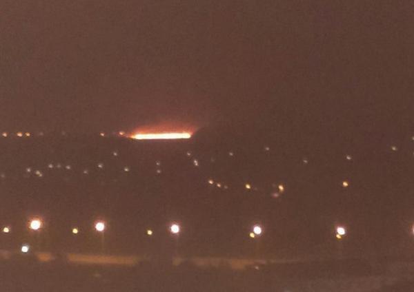 Strong fires near Makiivka