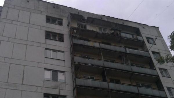 Shells hit residential area in Severodonetsk