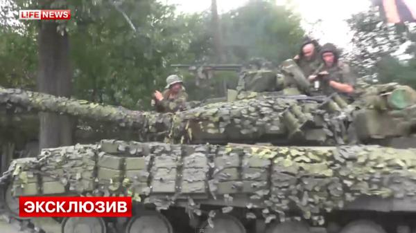 Russians attack the 25th airborne brigade
