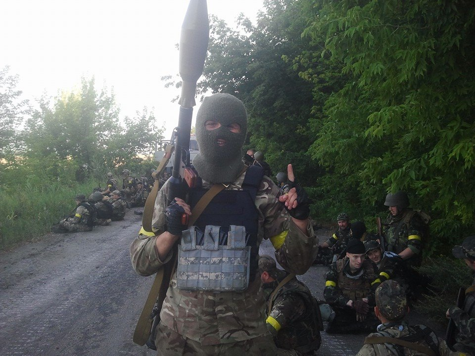 Ukrainian forces are storming Donetsk now