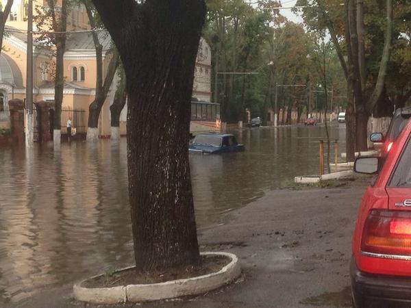 Rain in Odessa