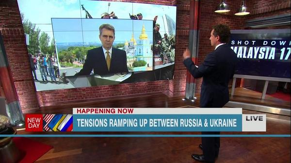 @GeoffPyatt says Russia is responsible for MH17 and that they're firing artillery into Ukraine right now