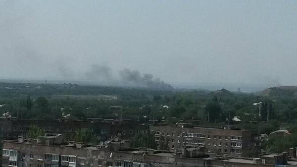 Renewed shelling in Donetsk