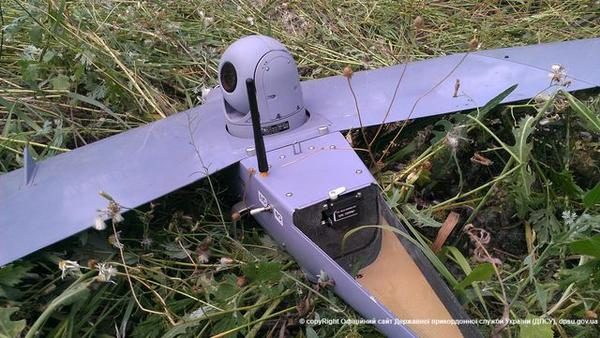 One more RUS drone captured in Kharkiv region