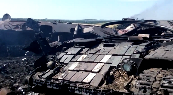 A Russian MLRS attack destroyed parts of the 72th Ukr. Brigade