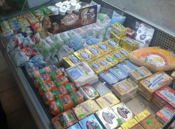 There are enough food in Slavyansk at last