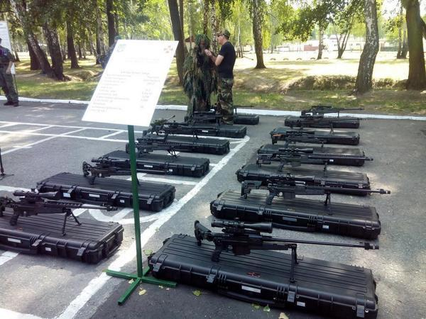 The first batch of Ukrainian rifles VPR-308 for National guard