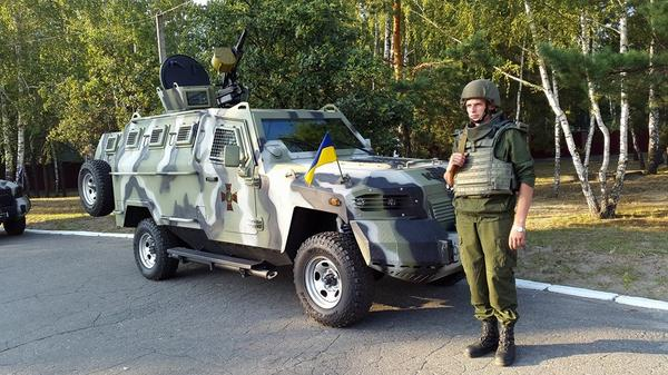 New arms of the National Guard of Ukraine. Humvee Coguar