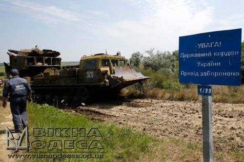 There will be 300-km ditch  in Odessa region at the border with Transnistria: 3,5m width, 1.5-3 m depth