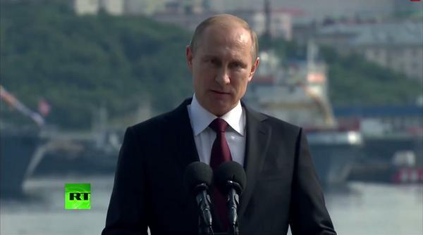 Vladimir Putin: strengthening the might of the black sea fleet is one of the priorities