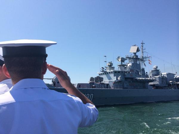 The day of Ukrainian Navy in Odessa