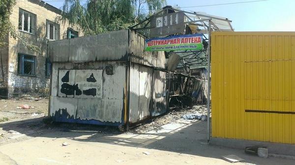Destruction in Lutuhyne
