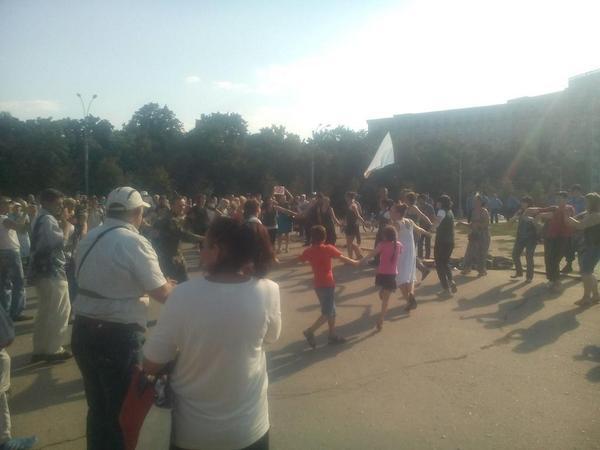 Cotton rally in Kharkiv