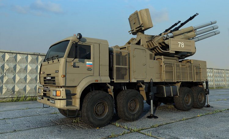 Armed terrorists from LNR probably got new AA-system Pantzir(SA-22 Greyhound)