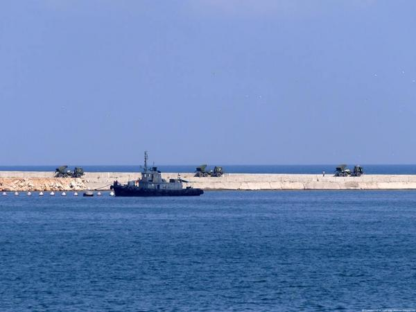 Russian MRLS in Crimea, ready to attack Kherson