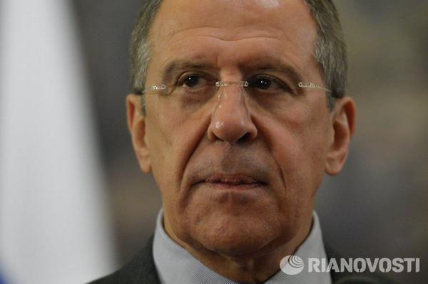 Lavrov: no negotiations on the Crimea