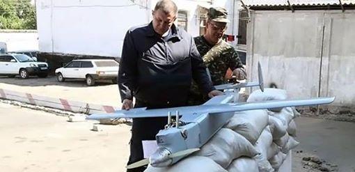 Kharkiv farmer found an UAV in field