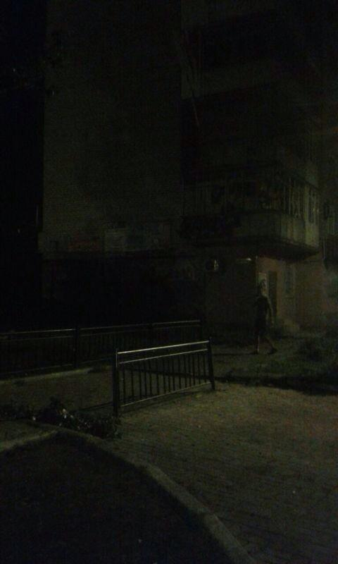 Shell hit residential building in Yasynuvata