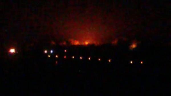 Shells hit Khutor Shirokiy of Donetsk in the night