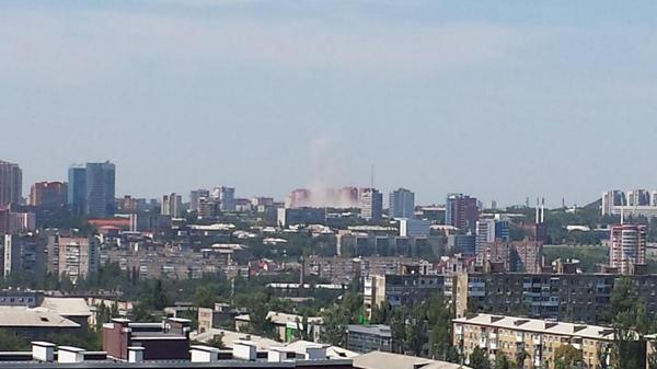 Explosion in Donetsk