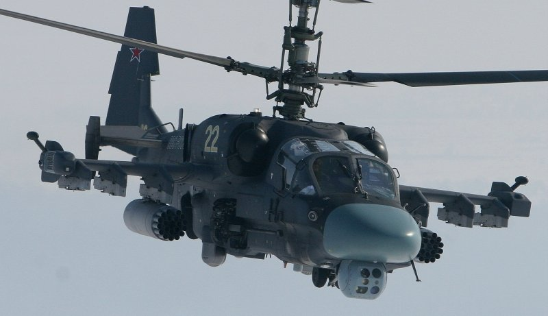 Ukr. State border service: Russia has moved 29 combat helicopters Ka-52 to the Valuyki