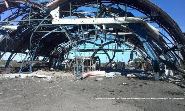 State border service: Dolzhansky checkpoint is completely destroyed