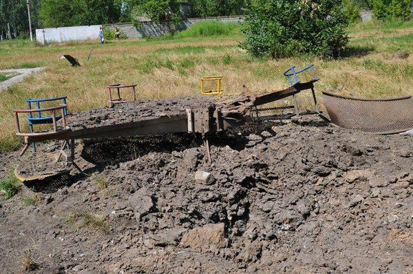 The consequences of the fighting in Avdiivka