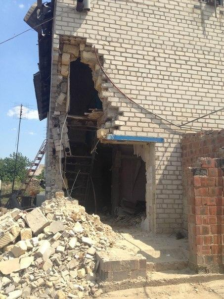 Terrorists have shelled village near Luhansk airport