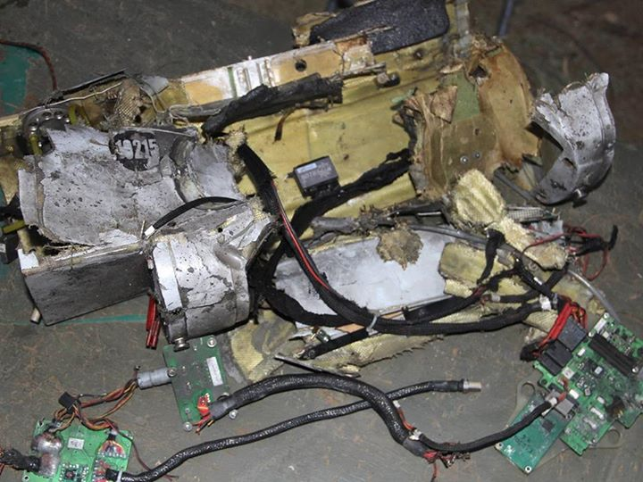 Security forces had shot down Russian UAV