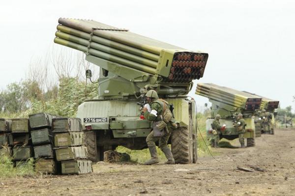 Russia have relocated 17 MRLS Grad to the border of Chernihiv region