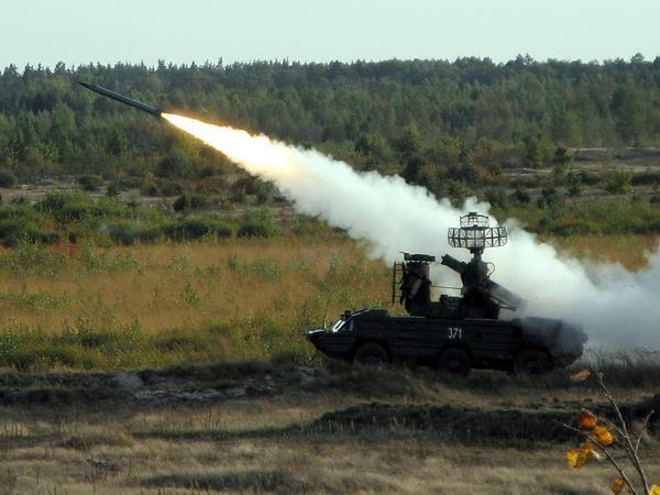 NSC: Russia have placed anti-aircraft complex OSA SA-8 Gecko near Ukrainian border