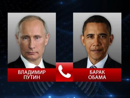 Barack Obama [@BarackObama] called Putin