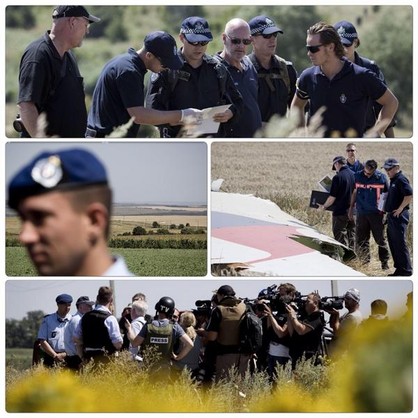 If security situation stays the same, Dutch, Australian teams will continue to scout MH17 site for recovery victims