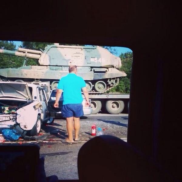 MSTA in road accident in Bataysk, Rostov region