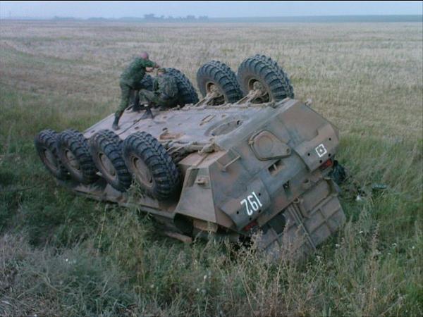 Ukrainian forces destroy Russian convoy