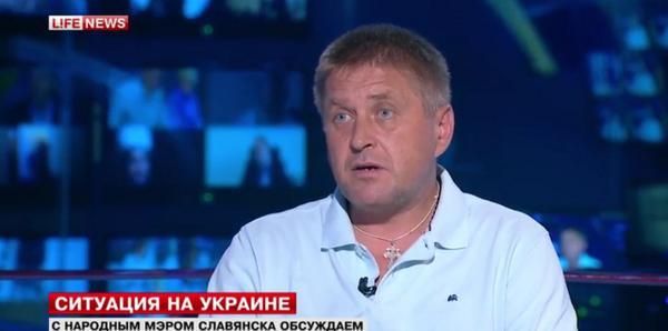 Ex-mayor of Slavyansk is in Moscow.