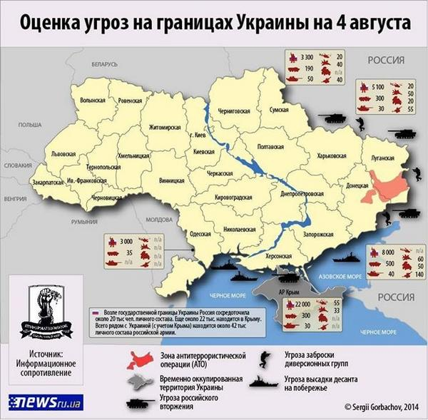 Russia has relocated up to  42 thousand soldiers to the Ukrainian border