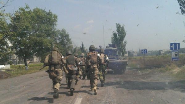 Enemy was hitting w/Grad its own manpower, Azov battalion commander on taking Marjinka