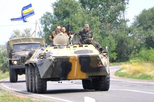Ukrainian Marines guard the southern borders via @mil_in_ua