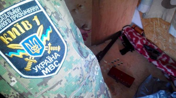 Molotovs, weapons found in Maidan residents' tents