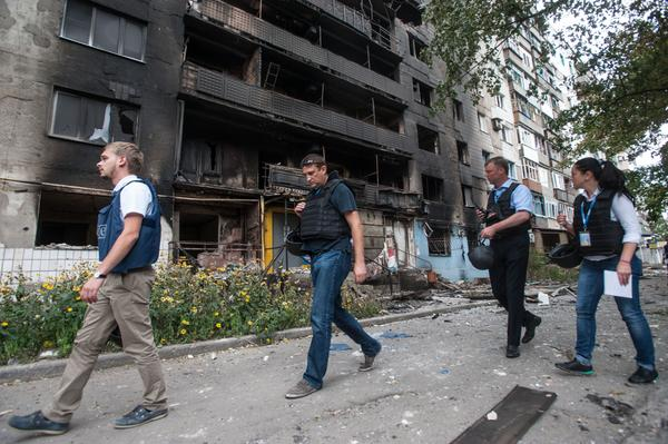@OSCE_SMM gather facts about the recent attacks