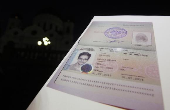 Russia grants Edward Snowden residence permit to stay three more years
