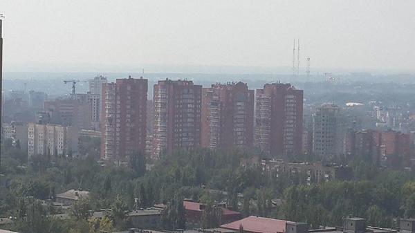 Terrorists shelling residential area in Donetsk