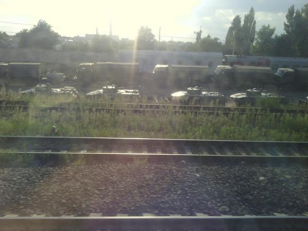 Military equipment in Kamensk-Shakhtinskiy