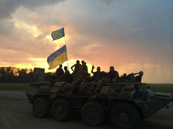 Ukraine's army 79th brigade broke through from trap after staying encircled for 3weeks
