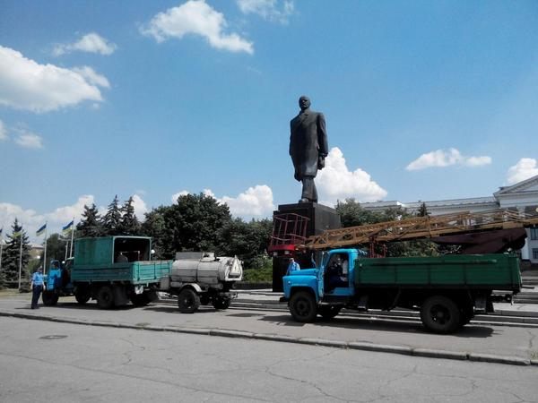 Government plans to remove Lenin statue from Kramatorsk