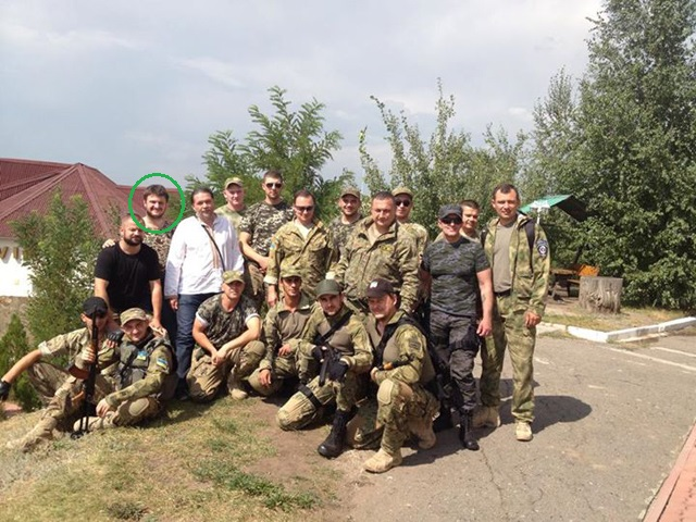 Son of MIA Avakov in battalion Kyiv-1